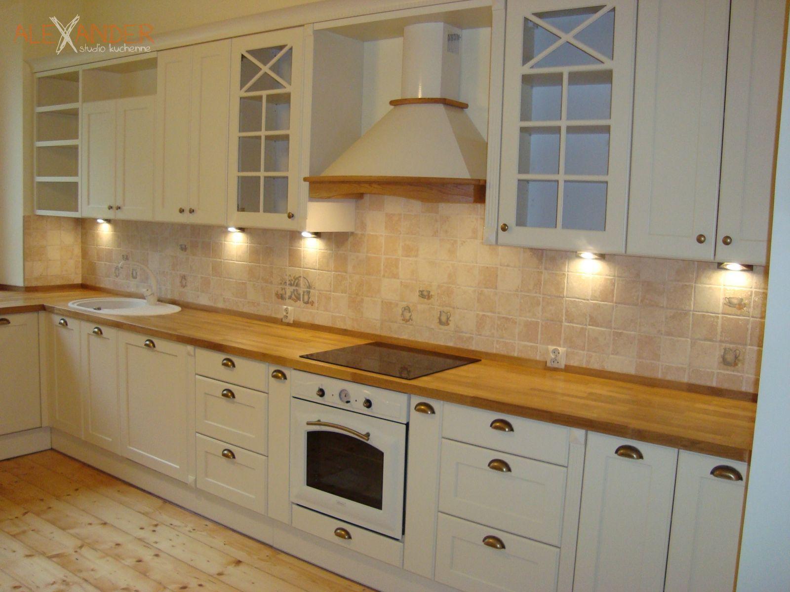 Kuchnia 23  Alexander  Meble kuchenne na wymiar # Kuchnie Klasyczne Ekskluzywne