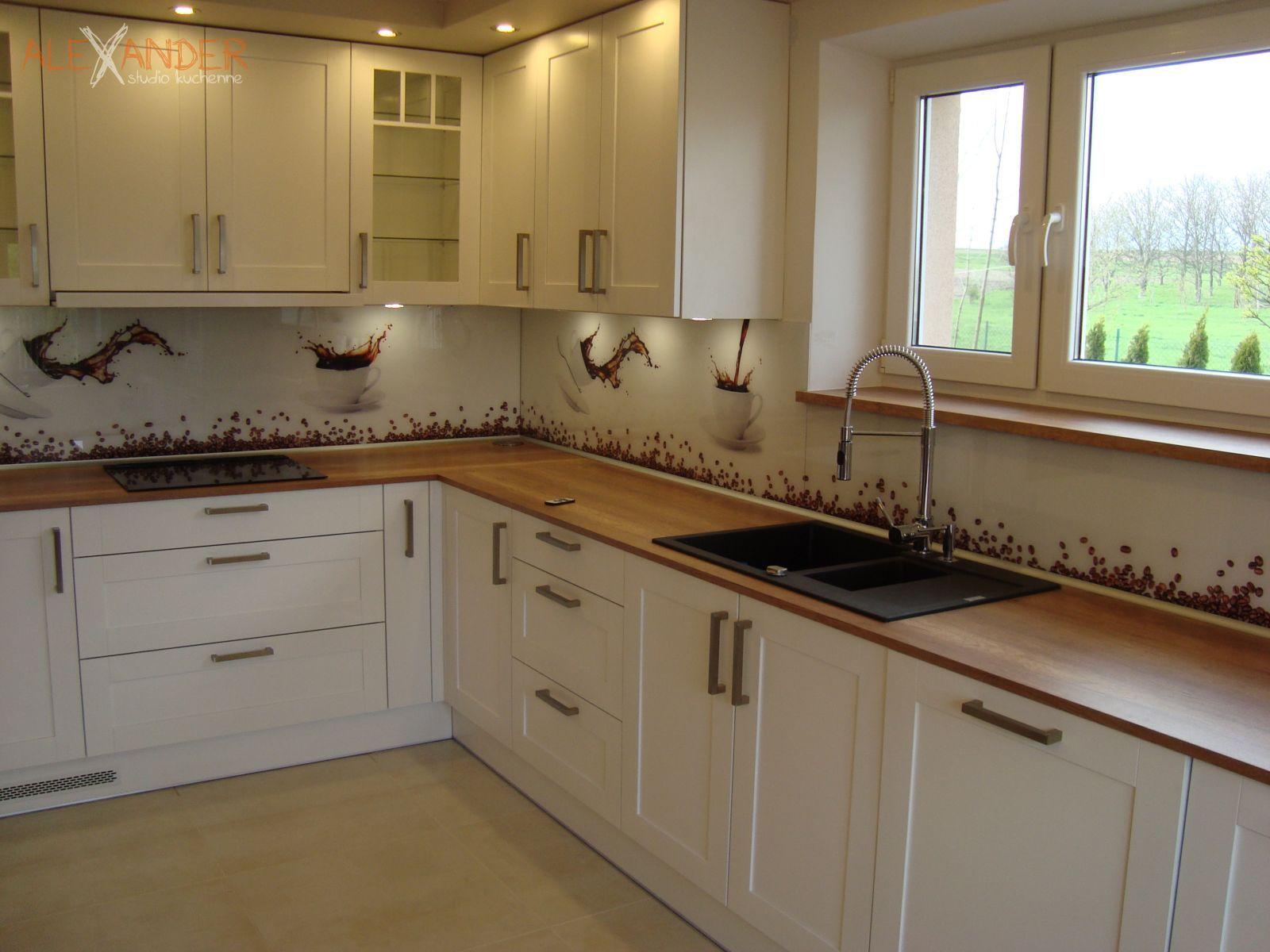 Kuchnia 38  Alexander  Meble kuchenne na wymiar -> Nowoczesne Kuchnie Elektryczne